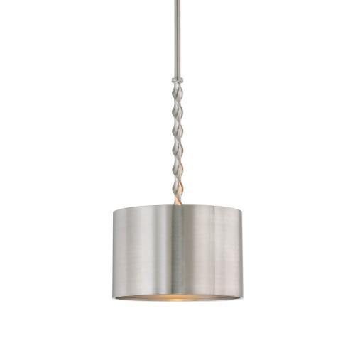 Tori Light Drum Pendant - Brushed Nickel