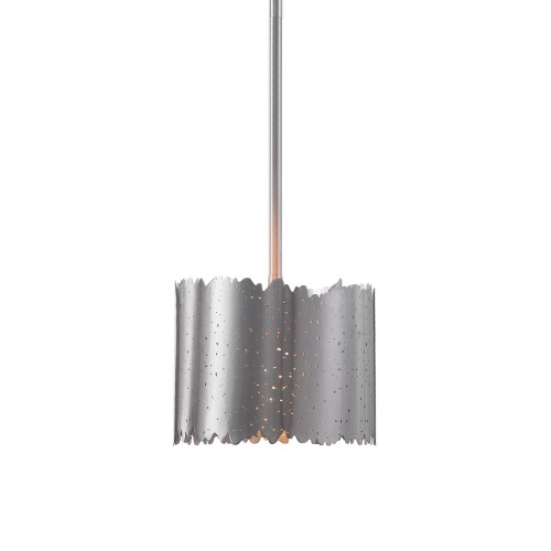 Baradla 1 Light Mini Pendant - Brushed Nickel