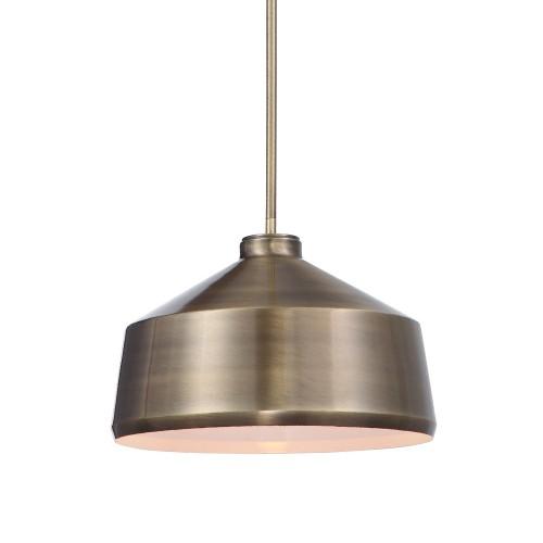 Holgate 1 Light Pendant - Brass