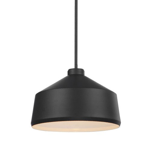 Holgate 1 Light Pendant - Black