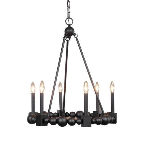 Randers 6 Light Chandelier