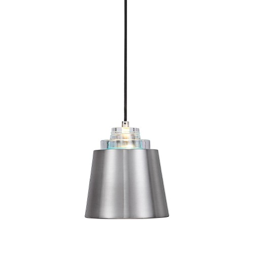 Pratt 1 Light Mini Pendant - Nickel