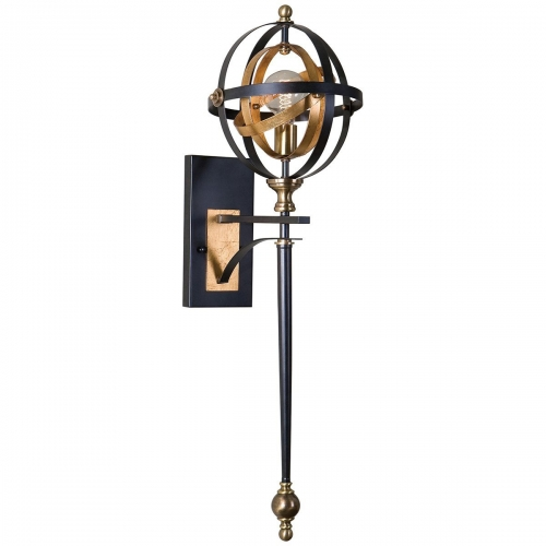 Rondure 1 Light Oil Rubbed Bronze Sconce