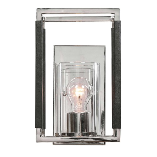 Newburgh 1 Light Sconce - Nickel