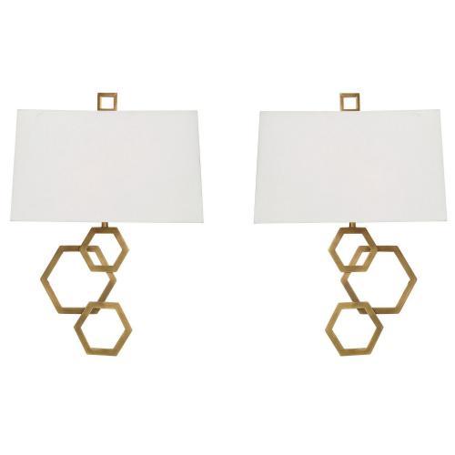 Deseret 2 Light Sconce - Set of 2 - Brass