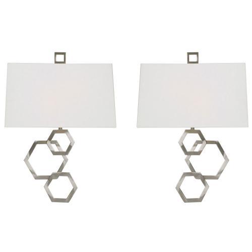 Deseret 2 Light Sconce - Set of 2 - Nickel