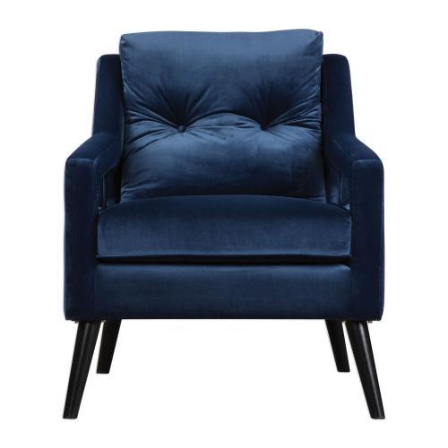 O'Brien Armchair - Blue Velvet