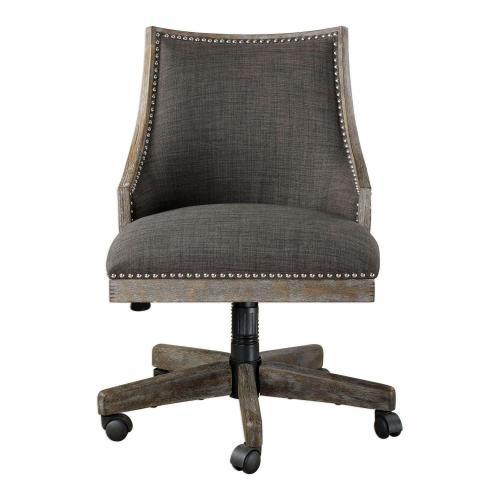 Aidrian Desk Chair - Charcoal