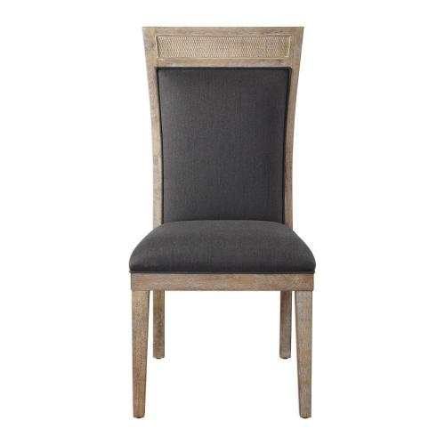 Encore Armless Chair - Dark Gray