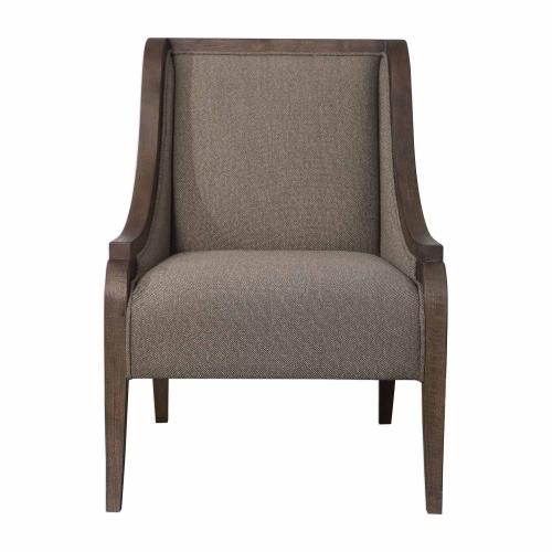 Vaughn Accent Chair - Walnut