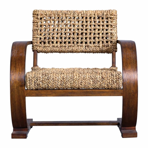 Rehema Accent Chair - Natural Woven