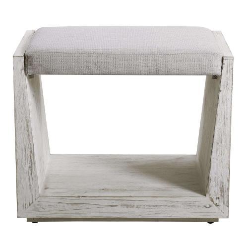 Cabana Small Bench - White