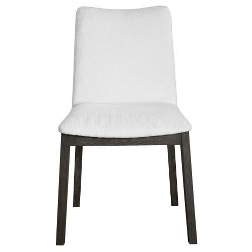 Delano Armless Chair - Set of 2 - White