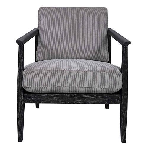 Brunei Modern Accent Chair - Gray