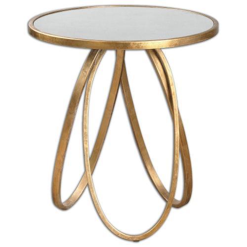 Montrez Side Table - Gold