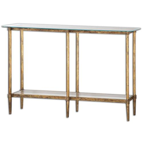 Elenio Console Table - Glass