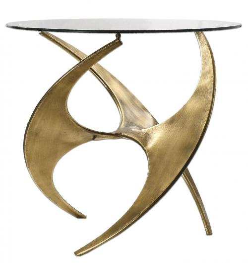 Graciano Glass Side Table