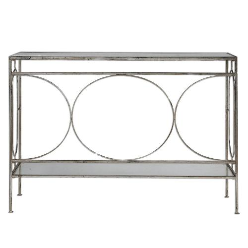 Luano Console Table - Silver