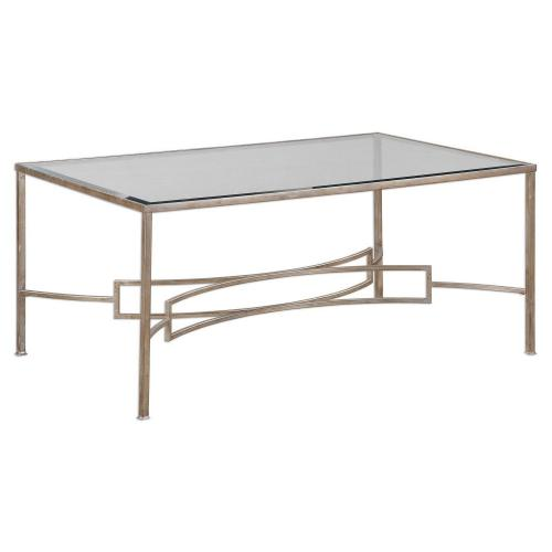 Eilinora Coffee Table - Silver