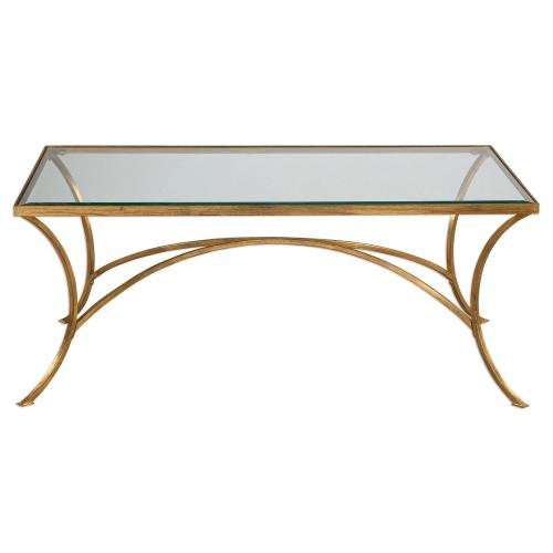 Uttermost Alayna Coffee Table - Gold