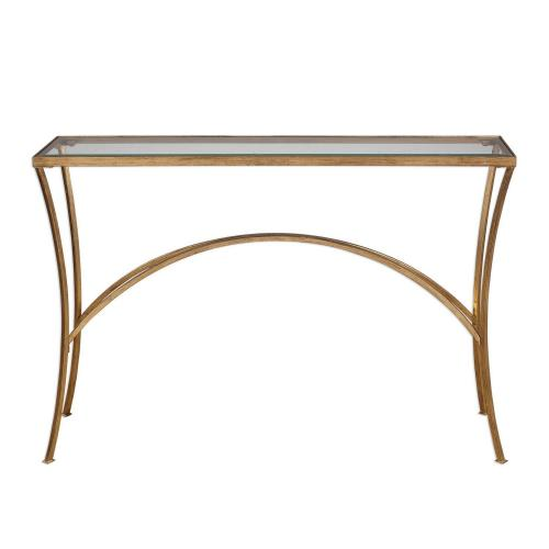 Alayna Console Table - Gold