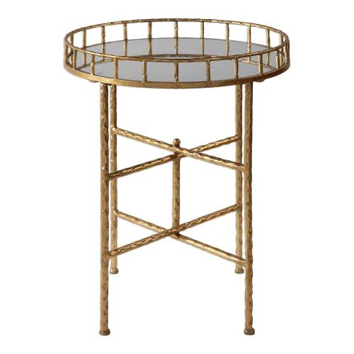 Tilly Accent Table - Bright Gold