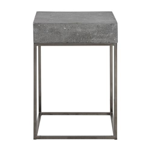 Jude Concrete Accent Table
