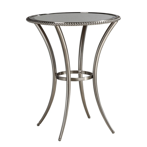 Sherise Accent Table - Beaded Metal