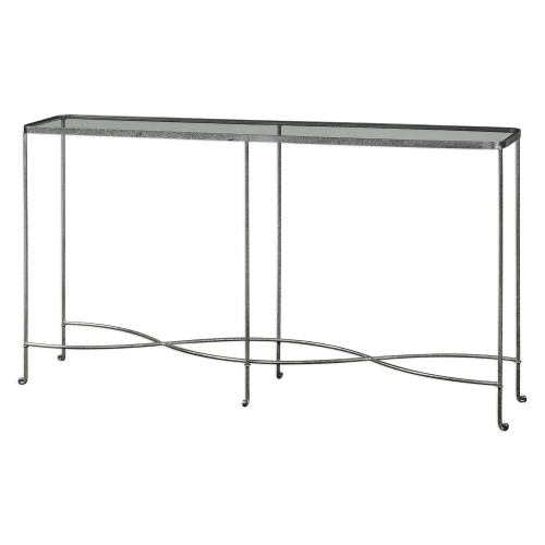 Aubrey Console Table - Silver