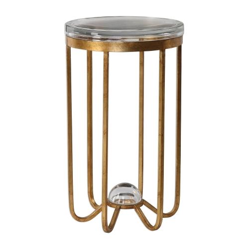 Allura Accent Table - Gold