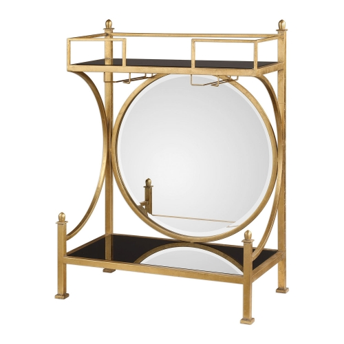 Presley Bar Console - Gold