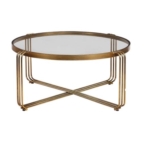 Hilde Coffee Table - Bronze