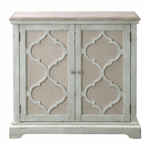 Sophie 2-Door Cabinet - Sea Grey