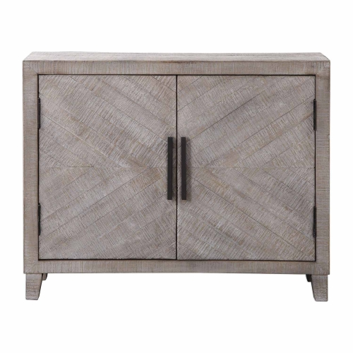 Adalind Accent Cabinet - White Washed