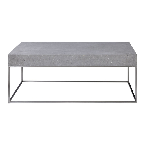 Jude Concrete Coffee Table