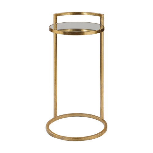 Cailin Accent Table - Gold