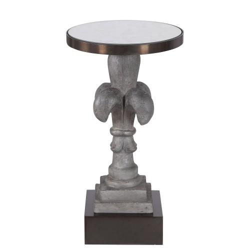 Francois Concrete Accent Table
