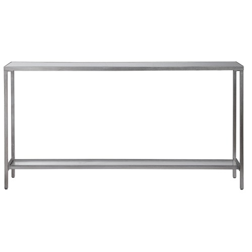 Hayley Console Table - Silver