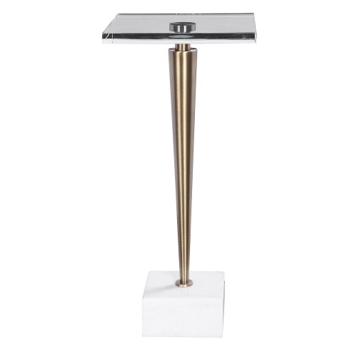 Campeiro Drink Table - Brass