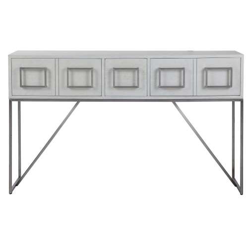 Abaya Console Table - White