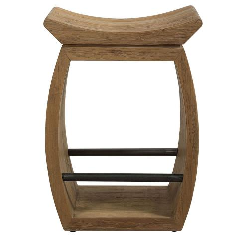 Connor Modern Wood Counter Stool