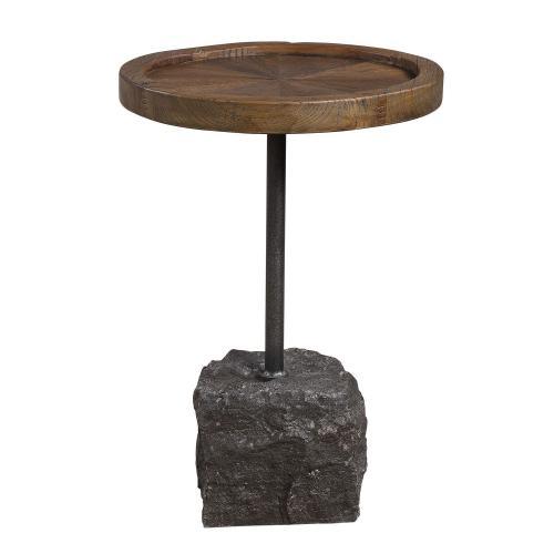 Horton Accent Table - Rustic