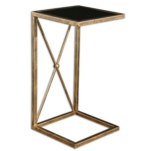 Zafina Accent Table - Gold