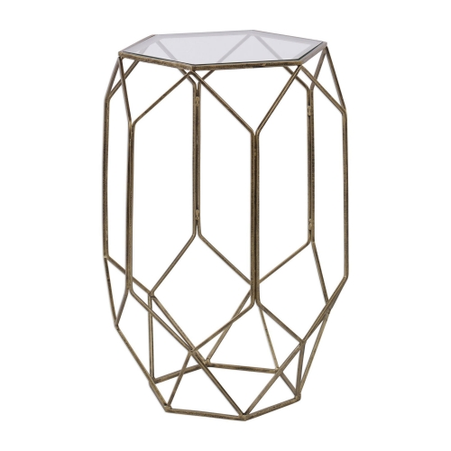 Sanders Contemporary Accent Table