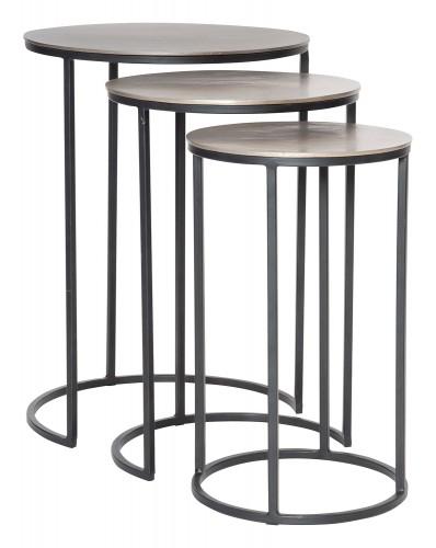 Erik Metal Nesting Tables - Set of 3