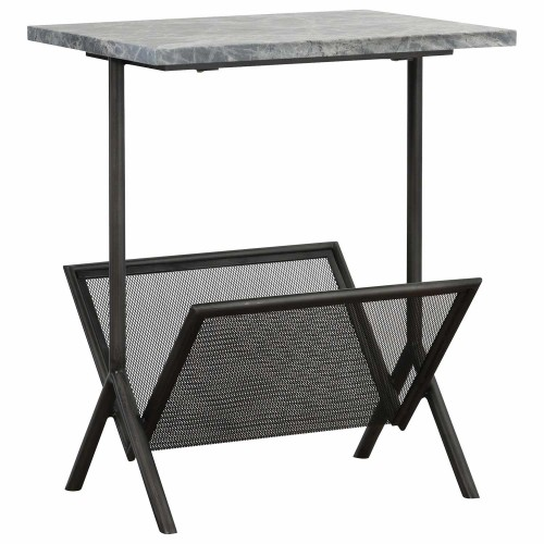 Sosa Magazine Table - Marble