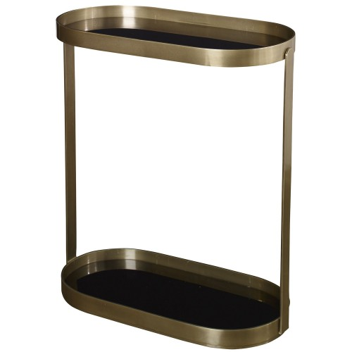Adia Side Table - Antique Gold