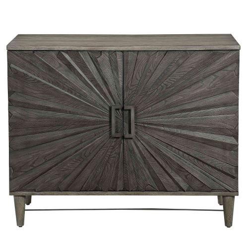 Shield 2 Door Cabinet - Gray Oak