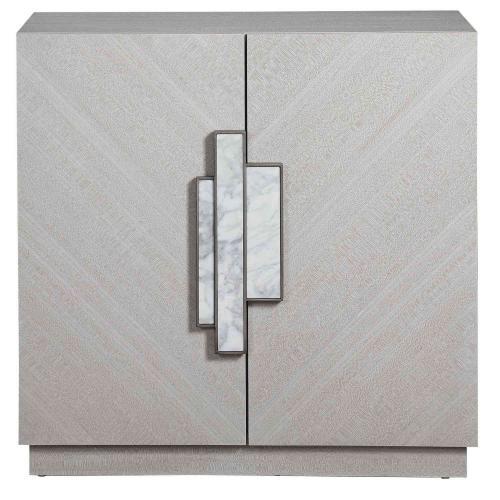 Viela 2 Door Cabinet - Gray