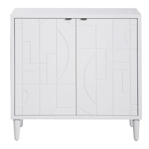 Stockholm 2 Door Cabinet - White